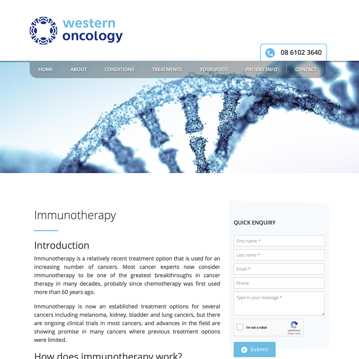 Western Oncology - Immunotherapy