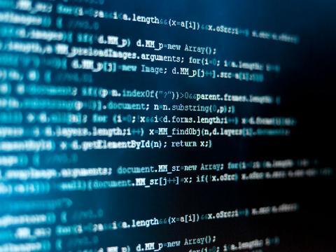 Code illustrating web development