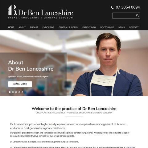Dr Ben Lancashire - Home