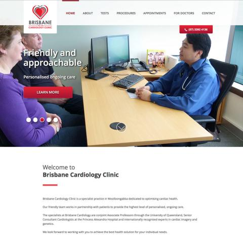 Brisbane Cardiology Clinic Home Page