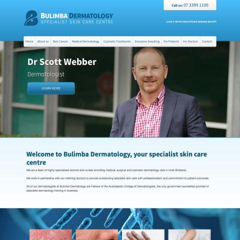 Bulimba Dermatology Home Page