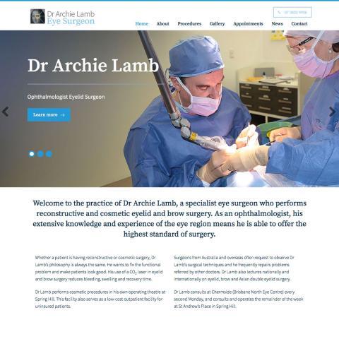 Dr Archie Lamb - Home Page