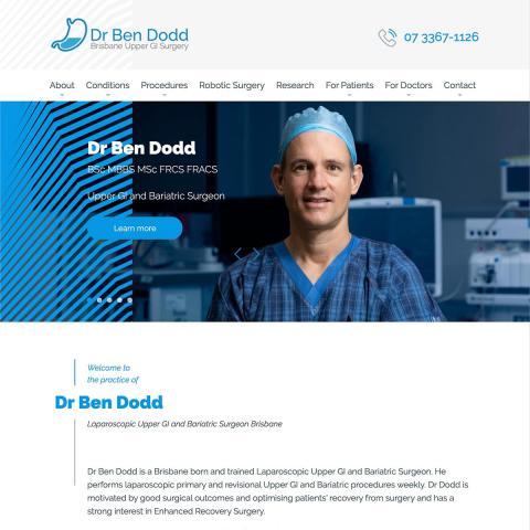 Dr Ben Dodd - Homepage
