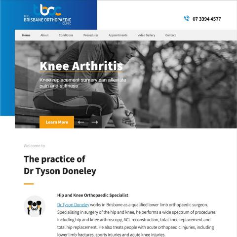 Dr Tyson Doneley - Homepage