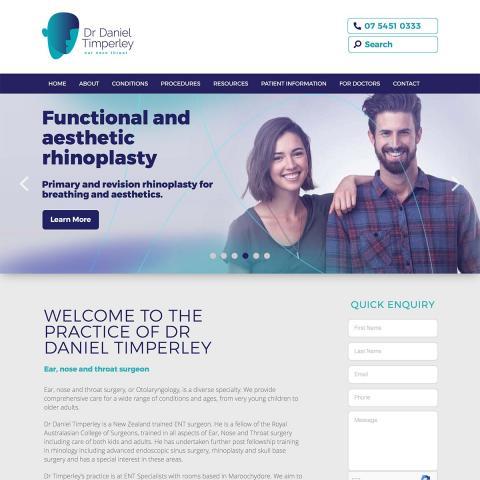 Dr Daniel Timperley - Home