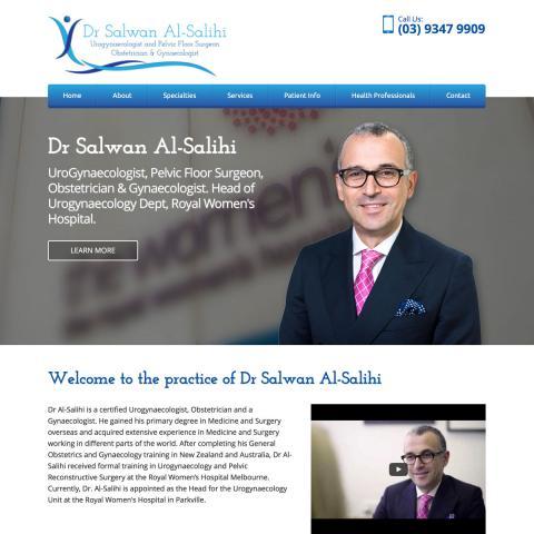 Dr Al-Salihi - Home Page