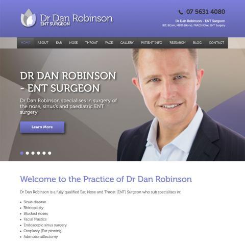 Dr Dan Robinson - Home Page