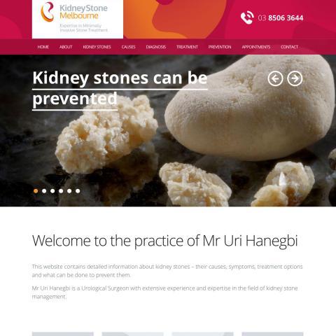 Kidney Stone Melbourne - Home
