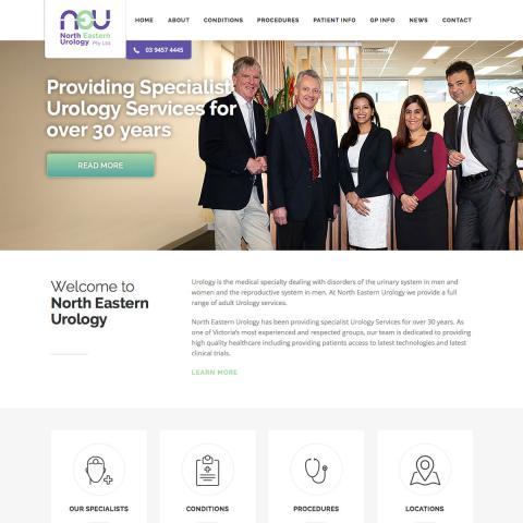 North Eastern Urology Home