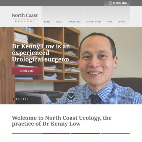 North Coast Urology Home