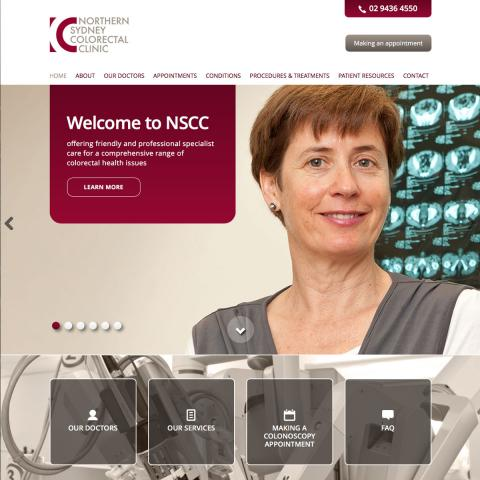 Northern Sydney Colorectal Clinic Home Page