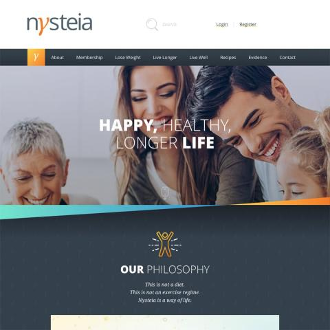 Nysteia Homepage - main banner