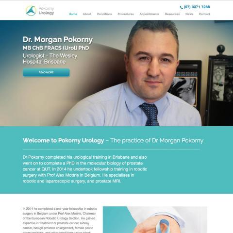 Pokorny Urology Home Page