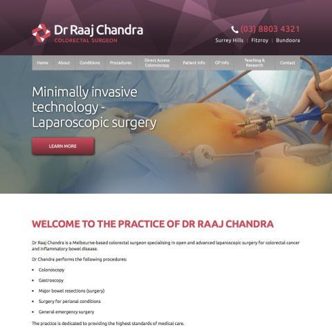 Dr Raaj Chandra Home