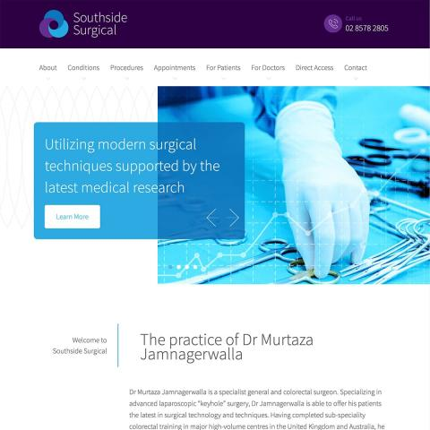 Southside Surgical - Homepage Banner 1
