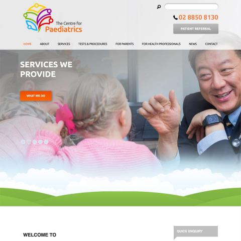 The Centre for Paediatrics - Homepage