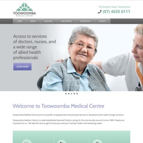 Toowoomba Medical Centre Home