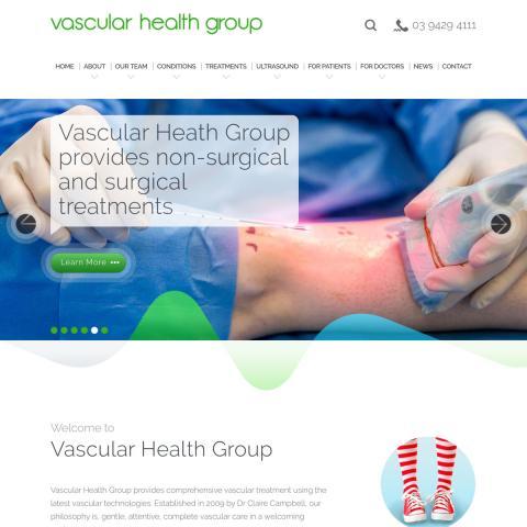 Vascular Health Group - Homepage