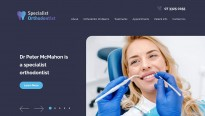 Specialist Orthodontist - Homepage Banner